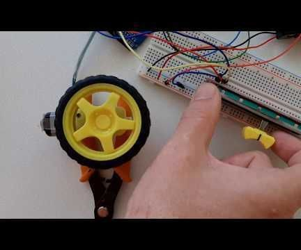 Arduino Control DC Motor Speed and Direction Using a Potentiometer
