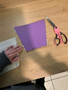 Sewing the Elastic Strips