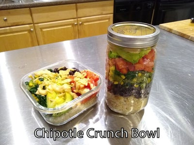 Example 2: Chipotle Crunch Bowl
