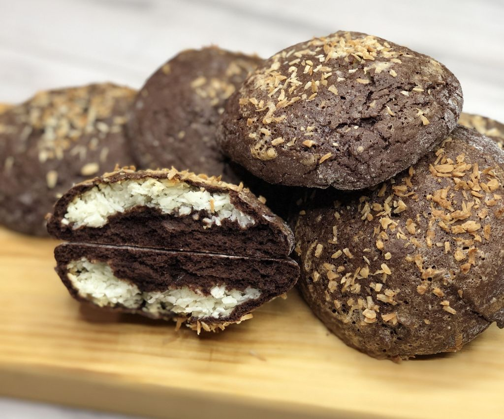 Coconut Chocolate Cookies