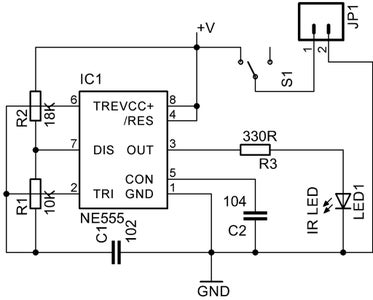 Test the Infrared Transmitter Module