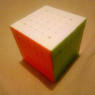 How to Solve a 6 by 6 by 6 V-Cube (Rubik's Cube)
