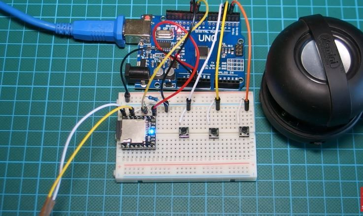 Picture of MP3 Player With Arduino Using DF Player Mini