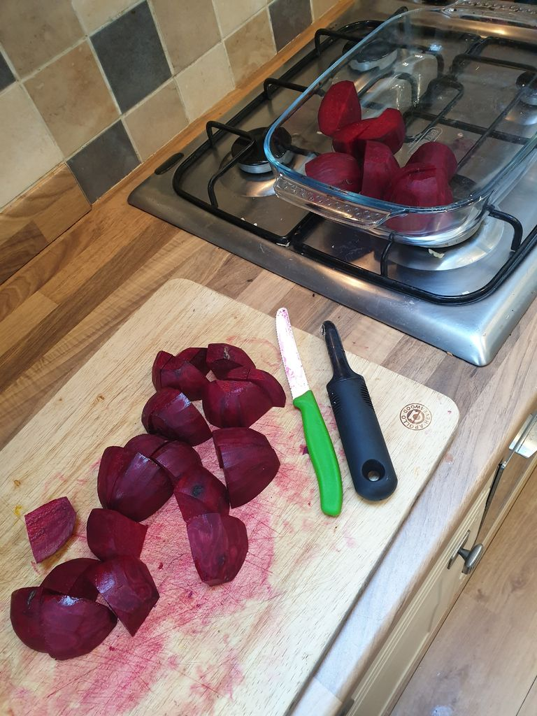 Picture of Peel and Chop the Beetroot