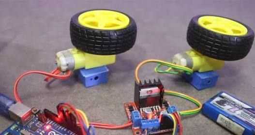 Picture of Running DC Motor With Arduino Using L298N Motor Driver