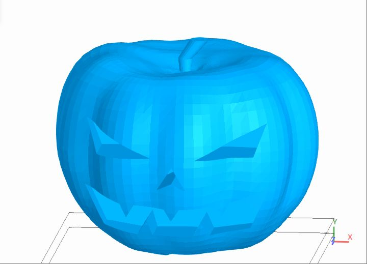 Picture of Model and Print a Halloween Pumpkin | SelfCAD