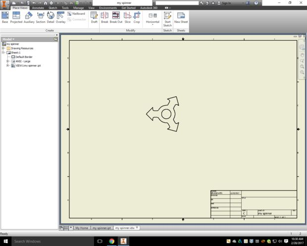 Step Two Create a Drawing File