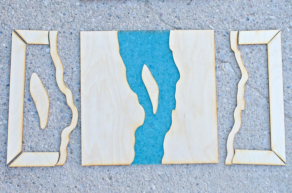 Picture of Cutting of the Plywood and Acrylic