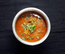 Veg Yam Fish Curry