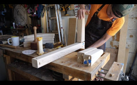Sanding, Glue Up, and Table Top Alignment