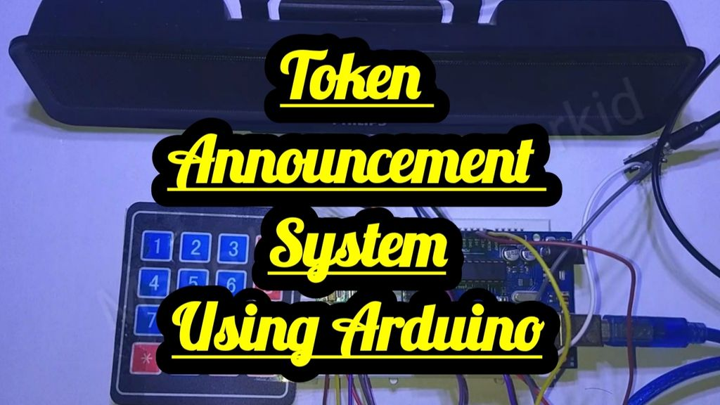 Picture of Token Announcement System