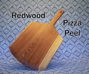 红木比萨饼铲