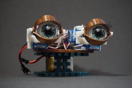 Animatronic Eyes With Remote Control
