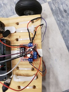 Top Side of the Robot