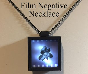 Film Negative Necklace