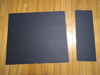 Cut Out the Foam Board