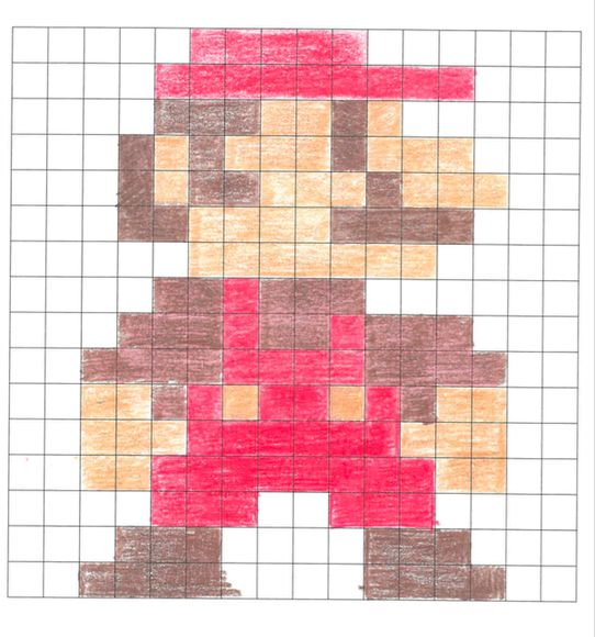 Pixel Art 3 Steps With Pictures
