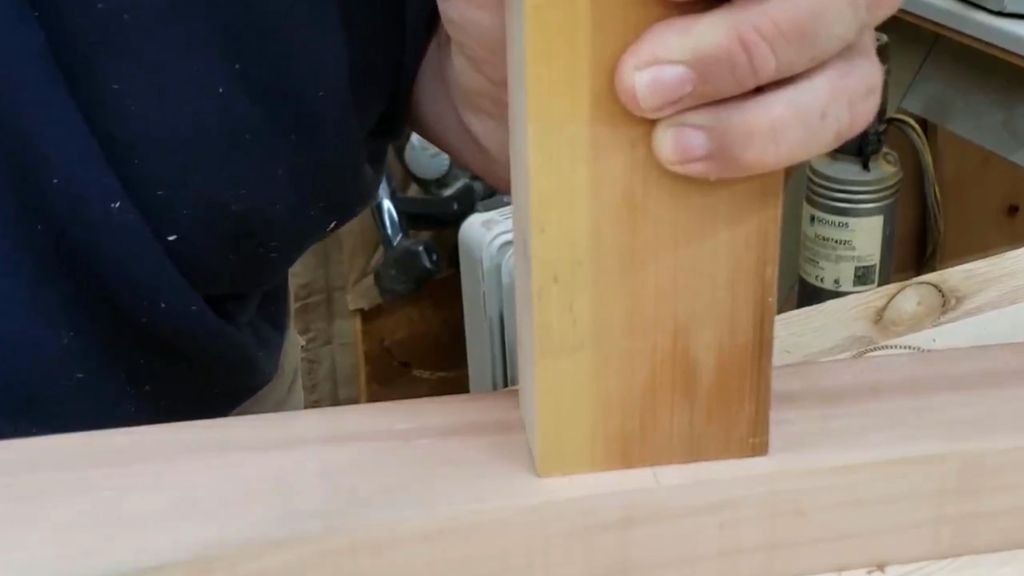 Picture of Cut Mortise and Tenon Joints