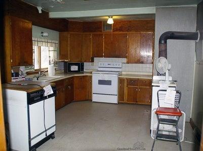DIY Farmhouse Kitchen Reveal! a Bigger Closet and a Bigger Kitchen!