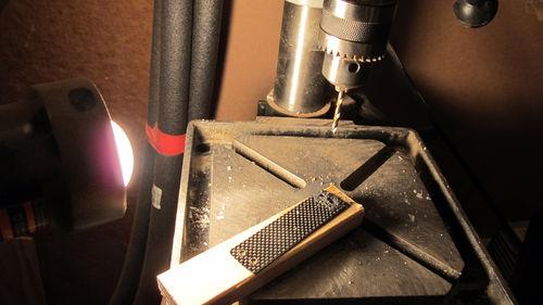 Prepare the Frame: Cut the Carbon Fiber