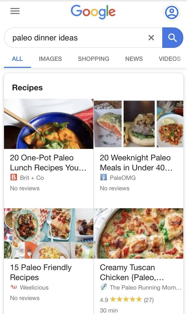 Picture of Find Your Recipes and Create Your Grocery List