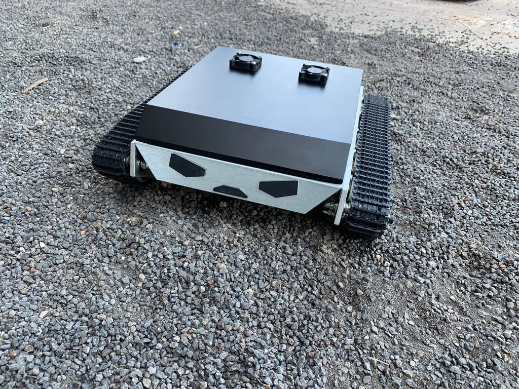 Picture of That's It! the Robot Tank Is Ready