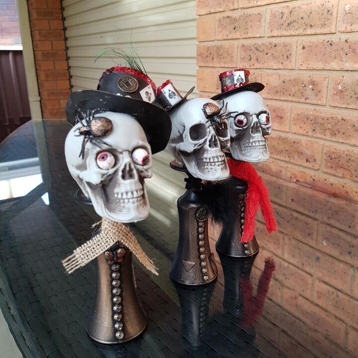 Picture of DIY Halloween Skull Men
