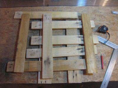 Disassemble the Pallet and Prepare the Wooden Boards
