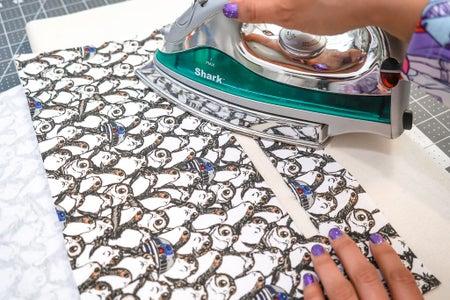 Prepping the Lining & Inner Zipper Pocket