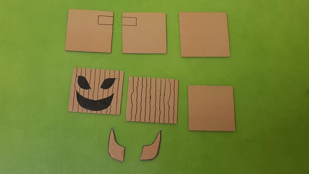 Picture of  Step 3 - Pumpkin Robot