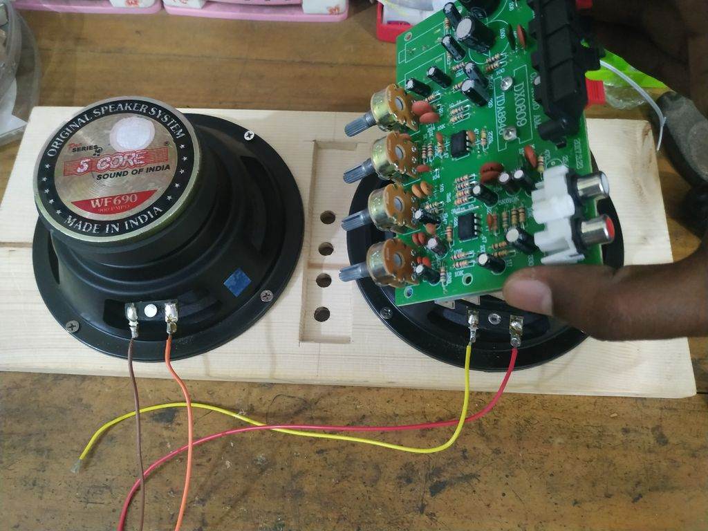 Picture of Fixing the Amplifier Board