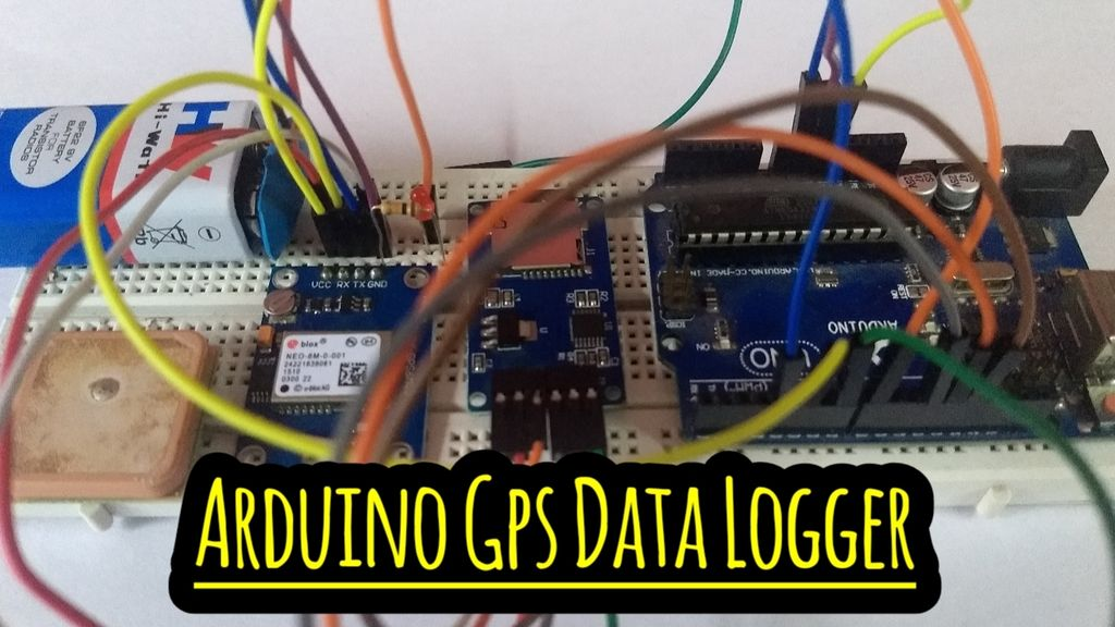 Picture of Arduino GPS Data Logger