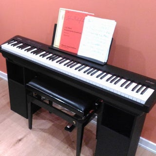 Keyboard Stand & Folded Horn Passive Amp