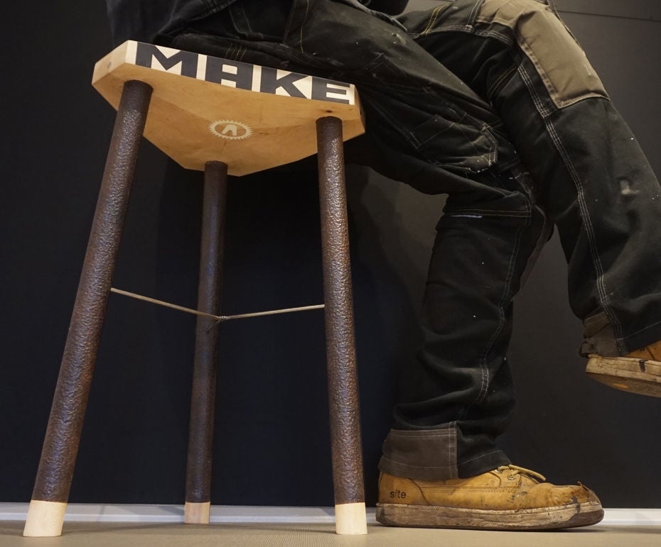 Picture of Sit Think Make Stool