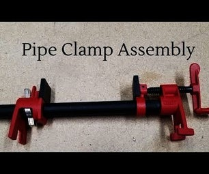 How to Assemble Pipe Clamps