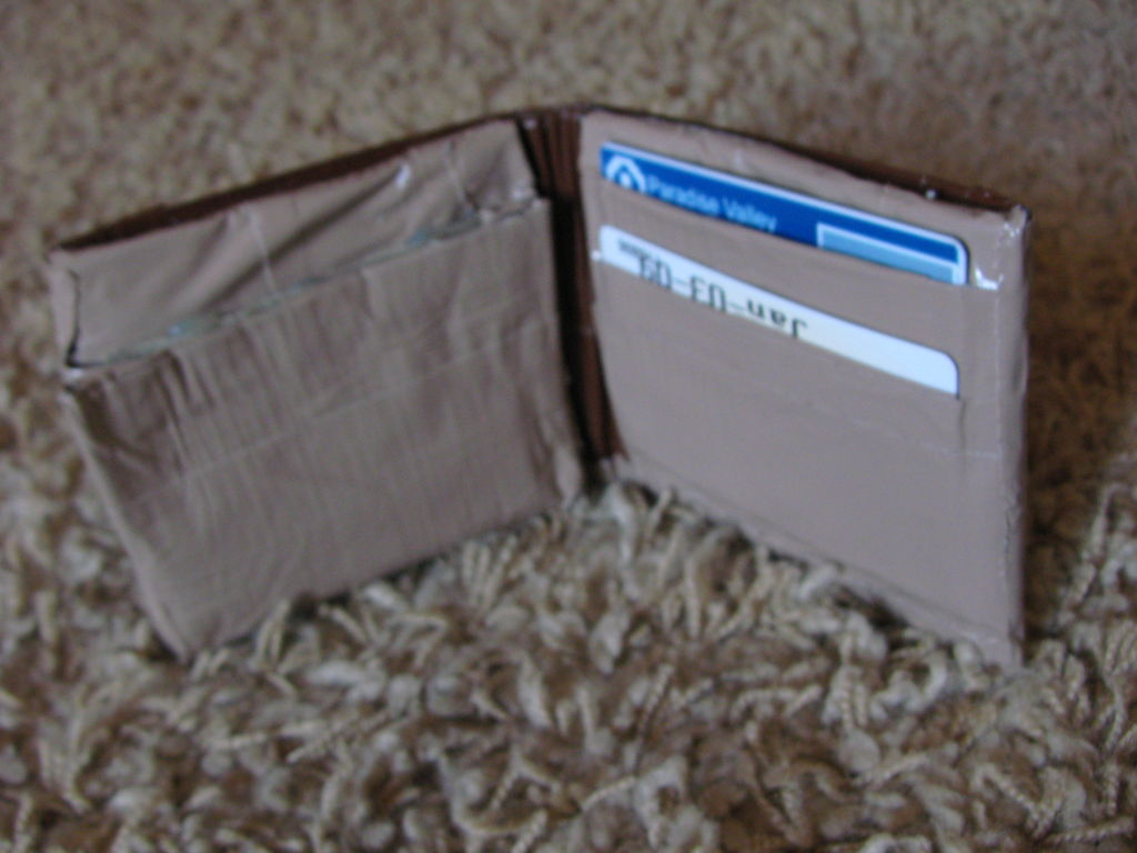 Picture of My Custom Duct Tape Wallet