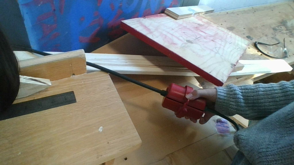 Picture of Finishing With the Miter Saw.