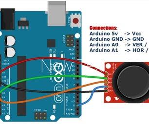 Arduino Joystick Module Tutorial