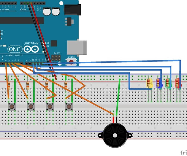 Arduino Uno Memory Game!