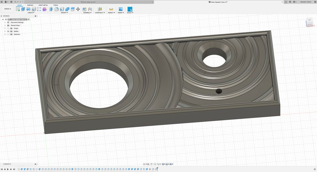 Picture of Design the Front Face in Fusion 360