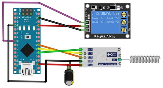Easy IOT - Remote Controlled Relay Node