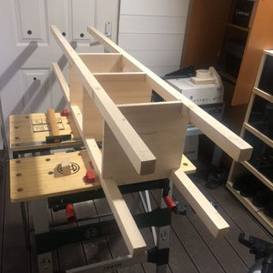 Assemble Shelves and Timbers