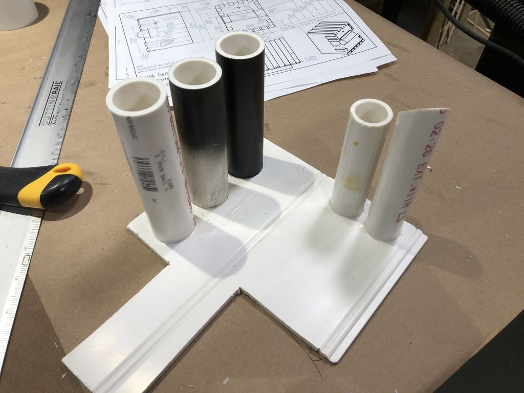 Picture of Capped PVC Tubes