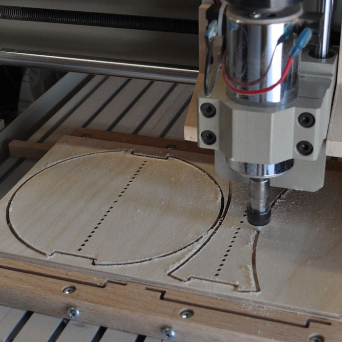 Picture of Cutting the Guide Plates