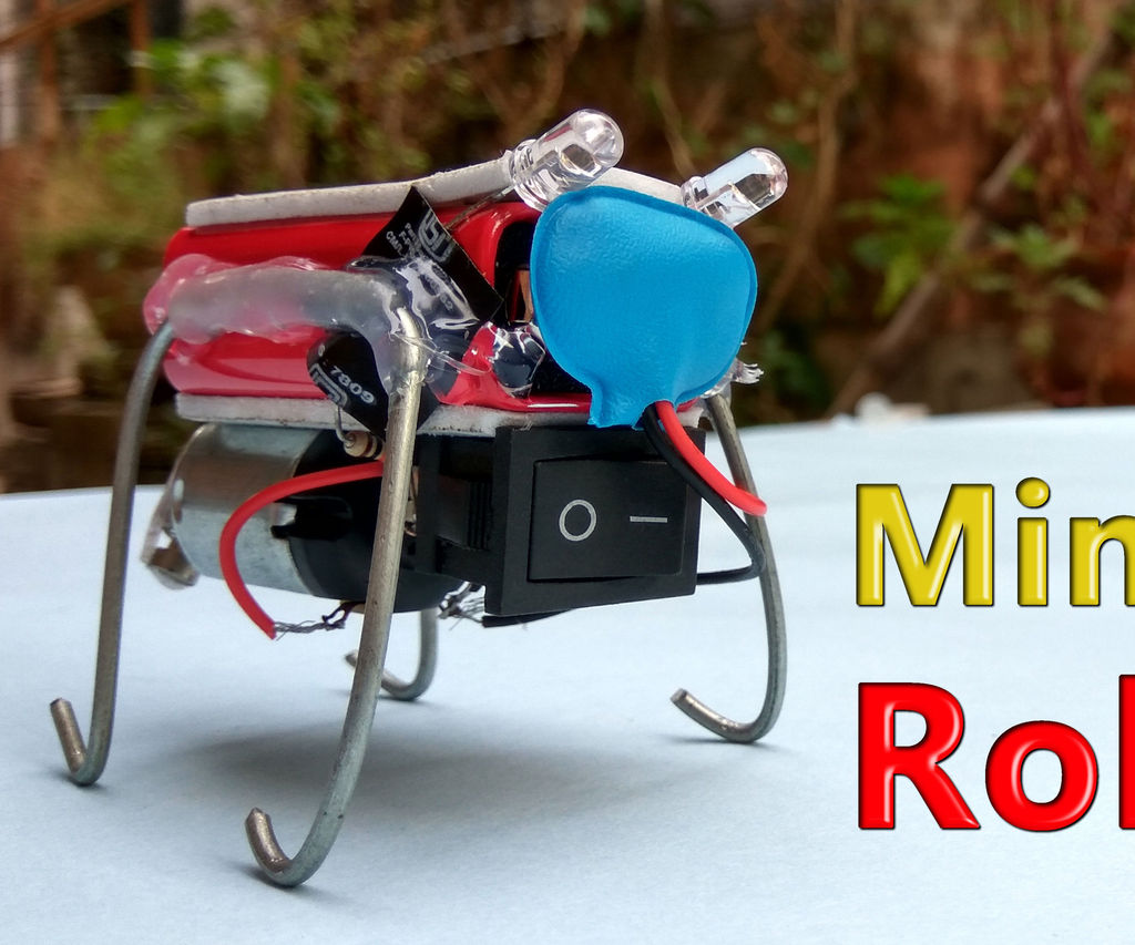 Mini Bug Robot in 5 Minutes |