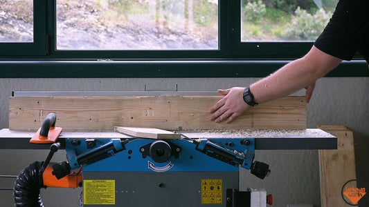 Milling Down the Pallet Wood