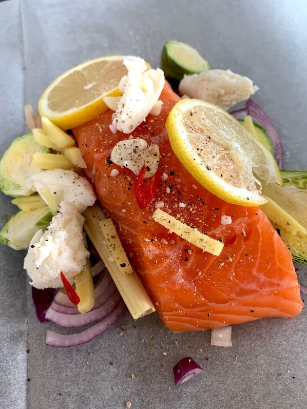 Picture of Salmon With Lemon
