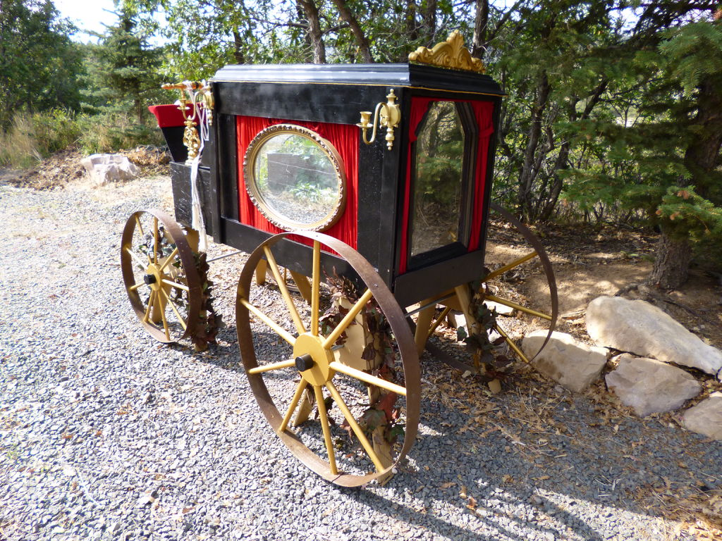 """Picture of Carriage Style Hearse (aka """"The Sin Eater"""")"""