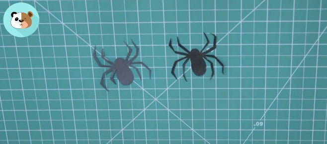 Picture of Cut Out the Black Spiders