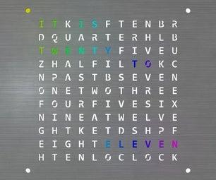 RGB WordClock